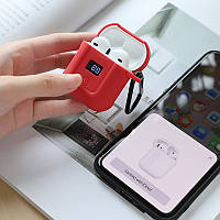 Наушники Hoco S11 Melody с зарядным чехлом и LED цифровым дисплеем уровня заряда, белый (S11(W))