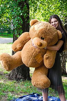 Плюшевий ведмедик Потап 180 см Коричневий