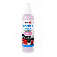 Полироль для авто пластика Nowax Black Cockpit Milk Cherry 250 мл (NX25227)