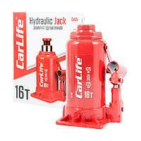 Домкрат гидравлический бутылочный 16 т 225-425 мм CARLIFE (BJ416)