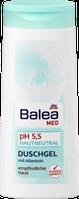 Антиалергенный мужской гель для душа  Balea MED pH-5,5 Hautneutral 300 мл