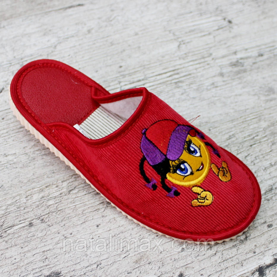 Тапочки детские, РОСТОВКА от 18,5 до 21. Тапочки для деток, обувь для дома