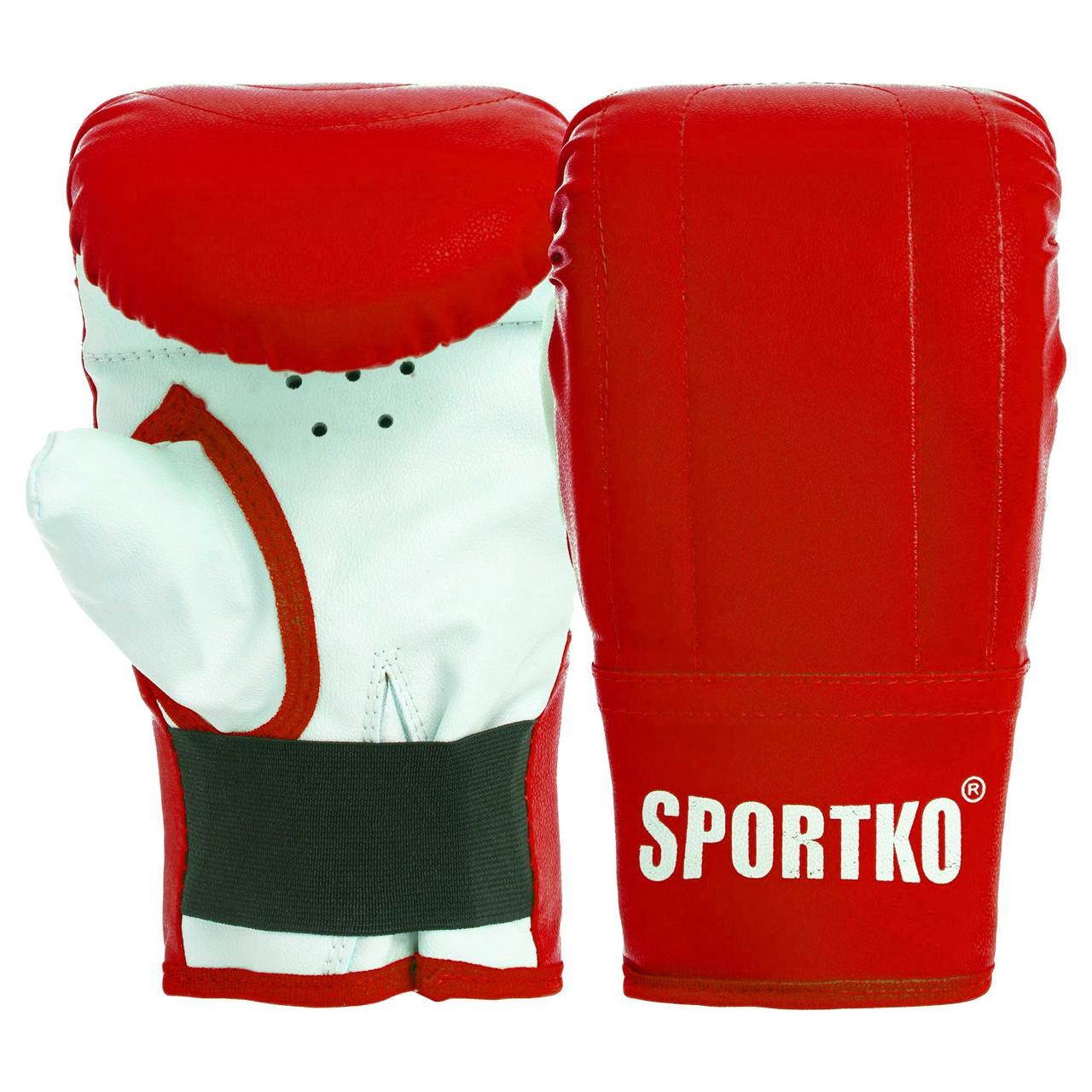 Снарядные перчатки Кожвинил SPORTKO UR (р-р S-XL, цвета в ассортименте)