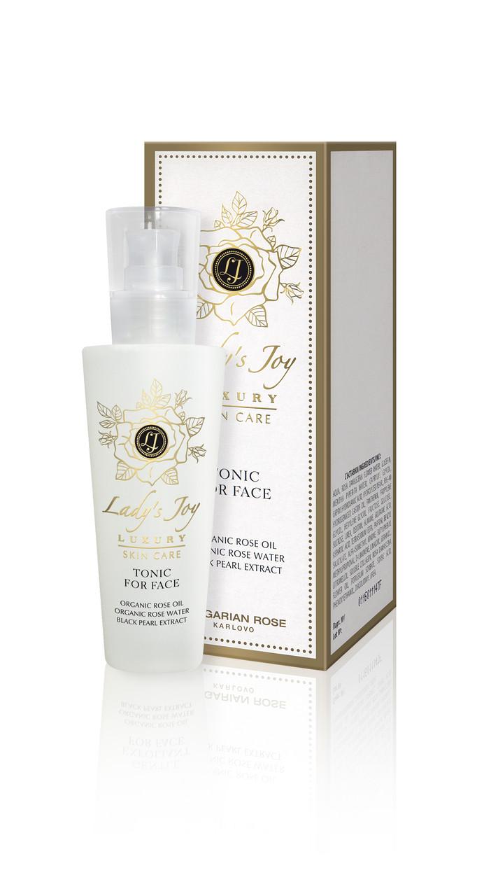 Тонік для обличчя Болгарська Троянда lady's Joy Luxury 160 мл
