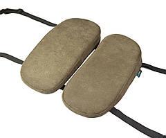 Детская ортопедическая подушка для сидения - School Comfort (для детей от 5 до 10 лет) оливковый