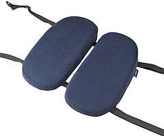 Детская ортопедическая подушка для сидения - School Comfort (для детей от 5 до 10 лет) синий
