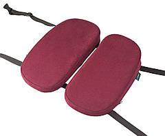 Детская ортопедическая подушка для сидения - School Comfort (для детей от 5 до 10 лет) бордовый