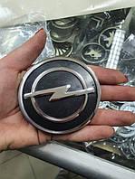Значок емблему на капот, Opel Vectra, Kadett, Omega 75 мм, фото 1