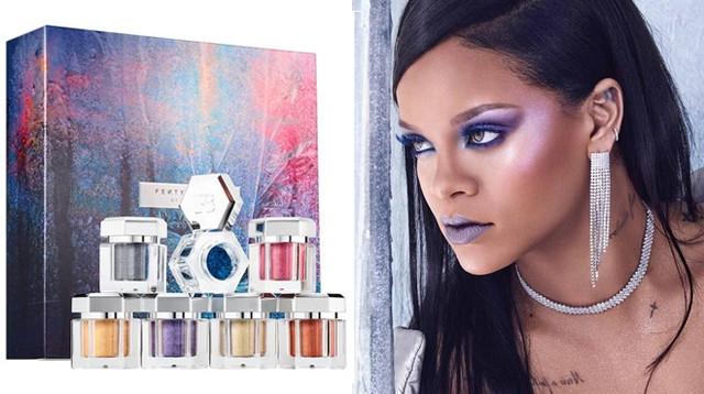 Fenty Beauty by Rihanna Avalanche All-Over Metallic Powder Set