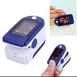 Портативный пульсометр оксиметр на палец Pulse Oximeter JZK-302, фото 2