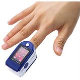 Портативный пульсометр оксиметр на палец Pulse Oximeter JZK-302, фото 3