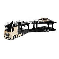 Игровой Набор - Автотранспортер Mercedes-Benz Actros  Bburago 18-31458