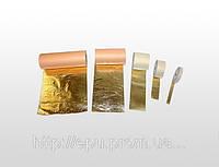 Поталь в рулонах золотая 10смх50м (Италия), фото 1