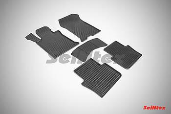 """Коврики в салон для Acura TLX (2,4) 2014- резиновые """"сетка"""", кт 5шт"""
