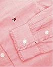 Рубашка для девочки TOMMY HILFIGER цвет розово-белый размер 108 арт KG0KG03415-608, фото 3