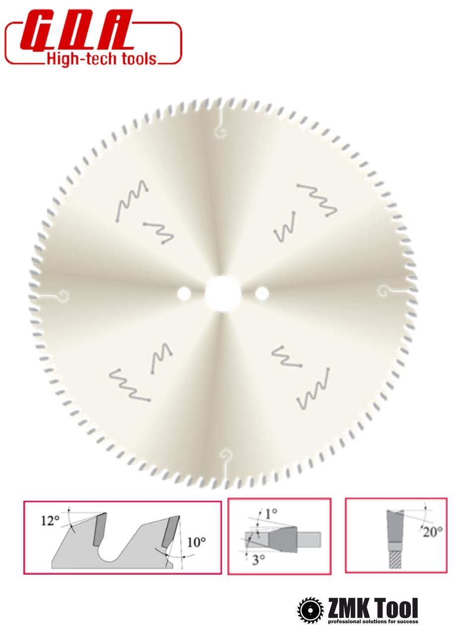 Пила для чистого торцевого реза багетов 250x30x2,5/1,8 z80 с покрытием