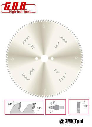 Пила для чистого торцьового різу багетів 300x30x3,0/2,5 z96 з покриттям, фото 2