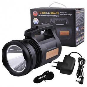 Потужний світлодіодний ліхтар TD 6000A, фото 2
