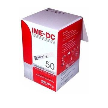Тест-полоски для измерения глюкозы в крови IME-DC №50