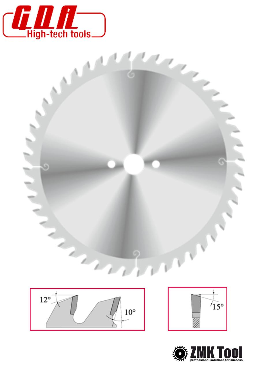 Пила для чистого торцевого реза 216x30x2,8/1,8 z64 отрицательный угол -5°