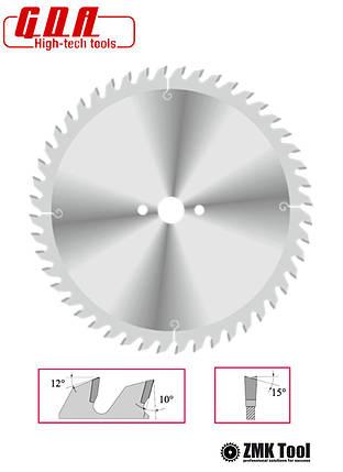 Пила для чистого торцевого реза 216x30x2,8/1,8 z64 отрицательный угол -5°, фото 2