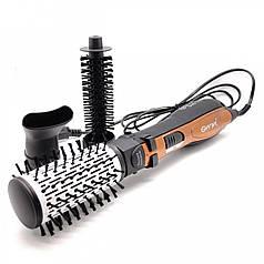 Фен - щітка для волосся Gemei 4828 3 в 1
