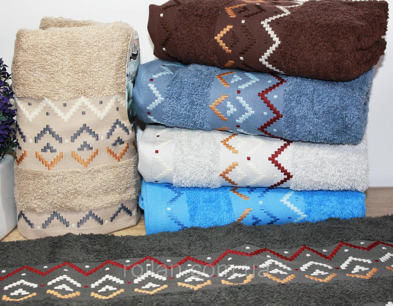 Банные турецкие полотенца ZIKZAK