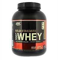 Протеин Оригинал США! Optimum Nutrition 100 % Whey Gold Standard 2,27 кг Chocolate malt Шоколадный коктейль