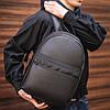Кожаный городской рюкзак Giorgio Armani, фото 3
