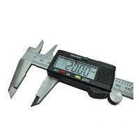 Штангенциркуль электронный цифровой 150мм с lcd микрометр мікрометр штангельЦиркуль металический в кейсе