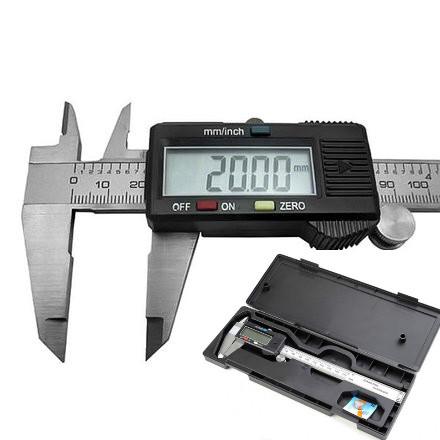 Штангенциркуль электронный цифровой 150мм штангельЦиркуль металический с lcd микрометр мікрометр в кейсе