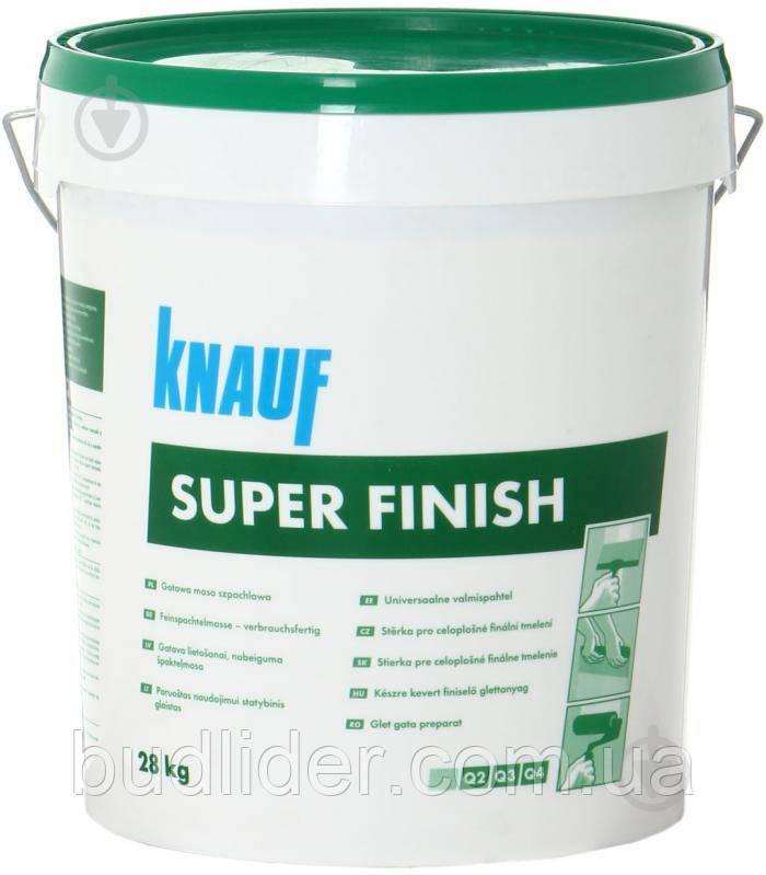 Шпаклевка KNAUF SUPER FINISH 28кг