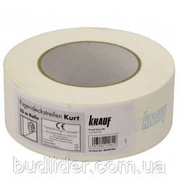 КУРТ KNAUF Лента для швов бумажная 25м