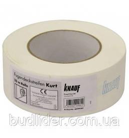 КУРТ KNAUF Лента для швов бумажная 75м