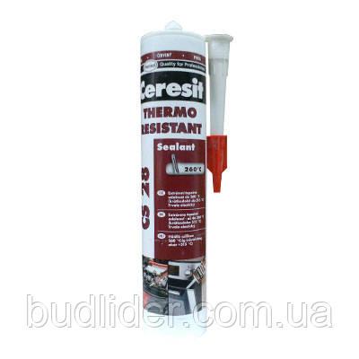 Герметик  CERESIT CS 28 термостойкий 300мл