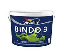 Краска интерьерная Sadolin Bindo 3 BW (WO) Глубокоматовая для потолка и стен 10л