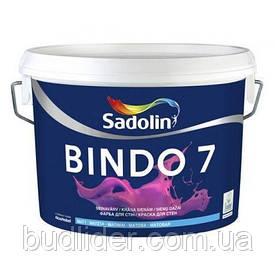 Краска интерьерная Sadolin Bindo 7 BW (WO) Матовая для стен 10л