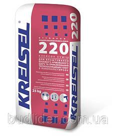Клей для теплоизоляции Kreisel 220 25кг
