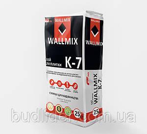 Клей для плитки WALLMIX K-7 25кг