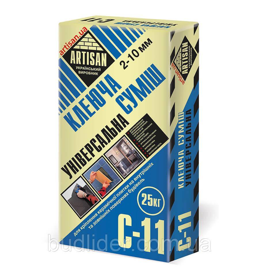 Клеящая смесь ARTISAN C-11 для крепления керамических плиток 25кг