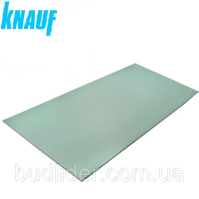 Гипсокартон Knauf 9,5*1200*2000мм влагостойкий (потолочный)
