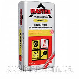 Клей для плитки MASTER NORMAL Для внутренних и наружных работ 25кг