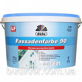 Краска фасадная DUFA FASSADENFARBE (F 90) акриловая 10л