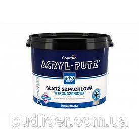 Шпаклевка SNIEZKA ACRYL-PUTZ FS20 Финишная шпаклевочная гладь 27кг