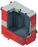 Котел твердотопливный DEFRO OPTIMA PLUS MAX (с автоматикой)  75 кВт. красно-серый, фото 2