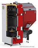 Котел твердотопливный DEFRO DUO UNI 20 кВт. красно-серый, фото 2