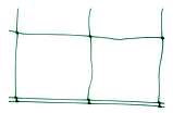 Сетка шпалерная, PLANT NET, 8 г/м², 15x17см, 1,7x100м, AS-CN08151717100, фото 2