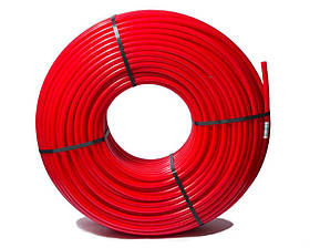 Труба теплый пол CAPRICORN 16x2 PE-RT бухта 200м красная