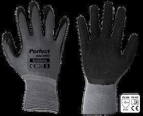 Перчатки защитные PERFECT GRIP GRAY латекс, размер 9, RWPGGY9