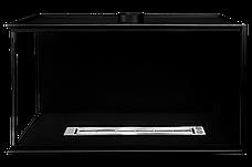 Биокамин Со стеклом Bio-Eko 800 Встраиваемый Черный структурный, фото 2